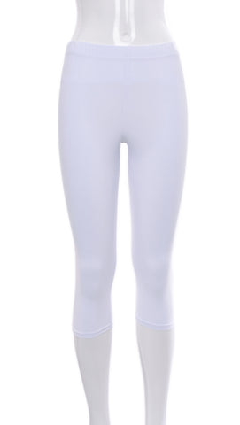 "Legging Court ""Blanc"" 