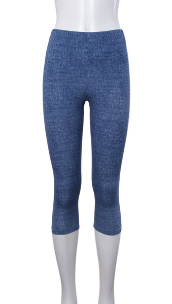 "Legging Court ""Denim"" -P777C 