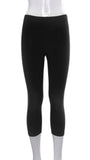 "Legging Court ""Noir"" -P777C 