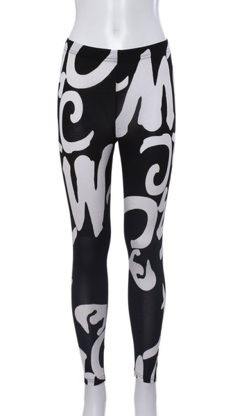"Legging King ""Noir"" 