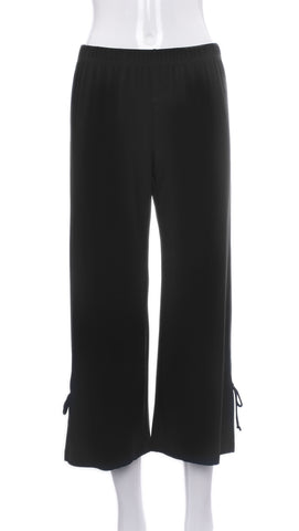 Pantalon Noir Court | Cropped Black Pants