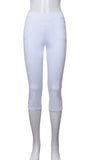 "Pantalon Court ""Blanc"" -PC7235R 