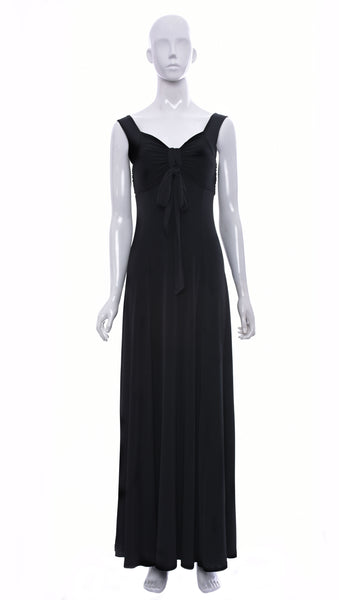 "Robe ""Fion"" Noir -R6117S 
