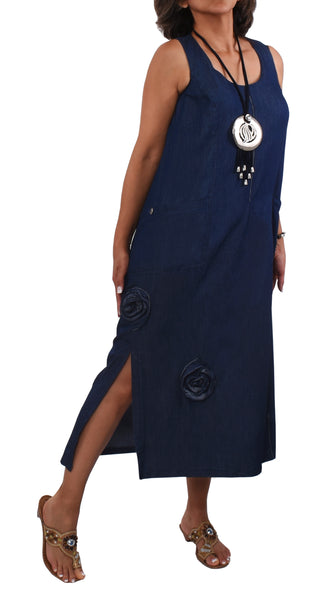 "Robe ""Denim"" -RJ859R 