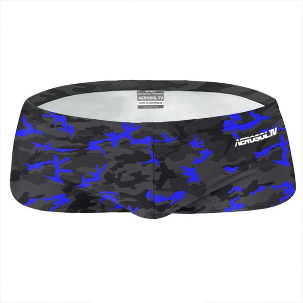 Camo sunga blue