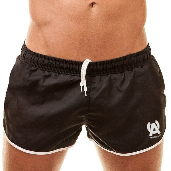 Hung swim-gym short