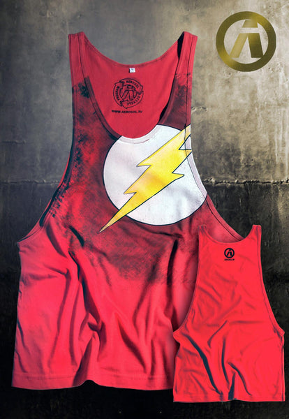 Flash red Tank-top