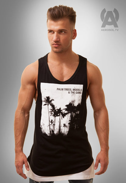 Palm Trees & The Gang Racerback Tank