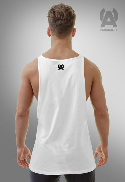 Basic low side tank white