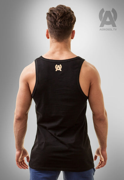 Basic square tank black