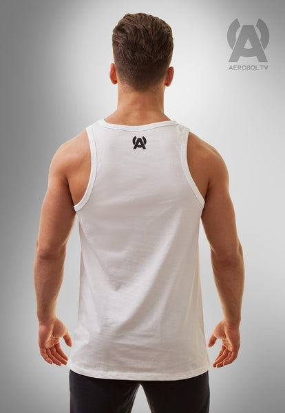 Basic square tank white