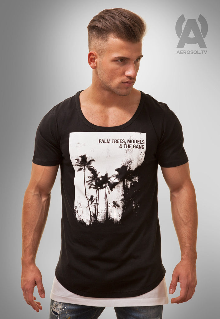 Palm Trees & The Gang Scoop neck Tee