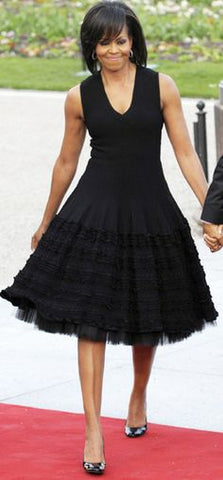 Michelle Obama little black dress