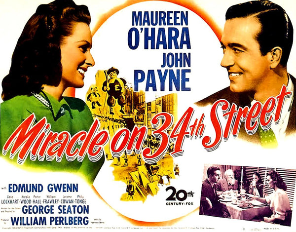 The Miracle on 34th Street movie poster
