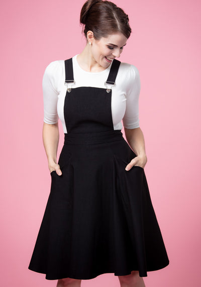 Kayden Black Overalls Lappuhame-Collectif-Miss Windy Shop