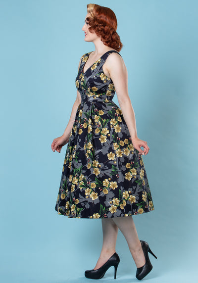 Gardenia Belle Juhlamekko-Lady Vintage-Miss Windy Shop