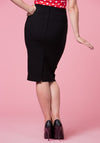 Polly Black Pencil Skirt Kynähame