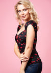 Dolores Cherry Love Top-Collectif-Miss Windy Shop