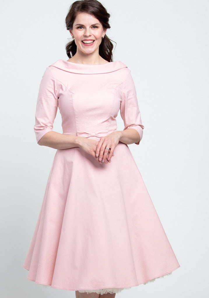 Bertha Pink Swing Juhlamekko-Collectif-Miss Windy Shop