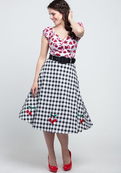 Dolores Baby Pink Strawberry Top-Collectif-Miss Windy Shop