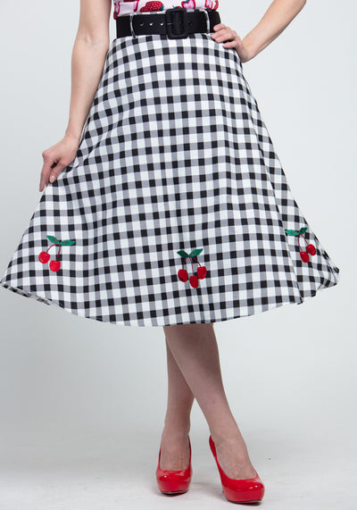 Cherry Vintage Gingham Kellohame-Collectif-Miss Windy Shop