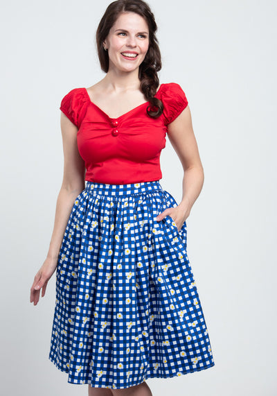 Jasmine Gingham Daisy Kellohame-Collectif-Miss Windy Shop