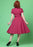 Caterina Raspberry Vintage Paitamekko - Collectif
