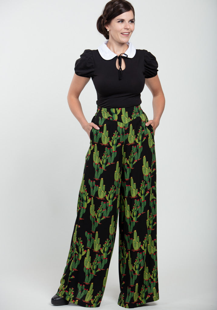 Alizee Cactusland Housut-Collectif-Miss Windy Shop