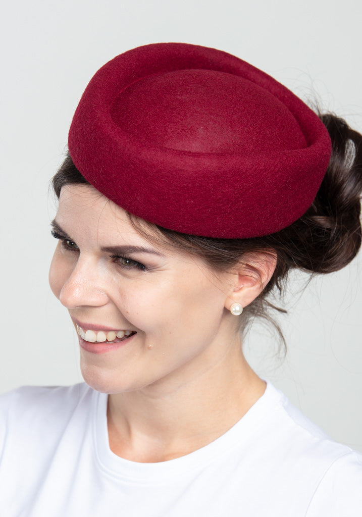 Jackie Burgundy Hattu-Banned-Miss Windy Shop