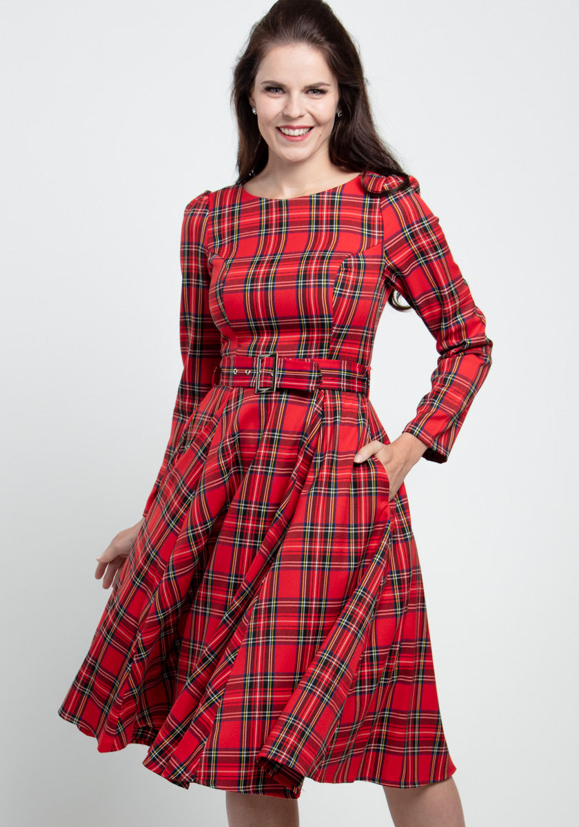 Highland Red Kellomekko-Hearts & Roses London-Miss Windy Shop