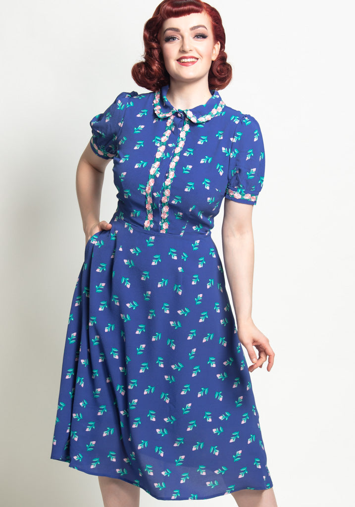 Eglentine 40's Rose Bud Mekko-Collectif-Miss Windy Shop