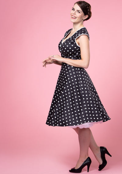 Isabella Sweetheart 50-luvun mekko-Lady Vintage-Miss Windy Shop