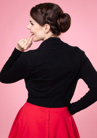 Jean Black Bolero-Collectif-Miss Windy Shop