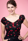 Dolores Cherry Love Top Collectif