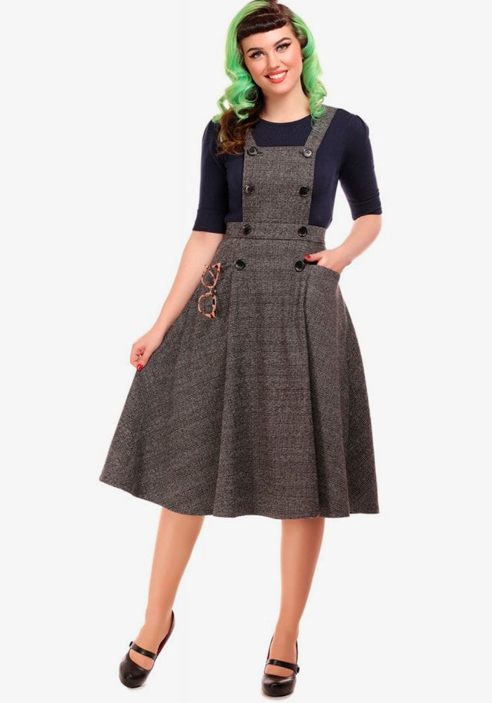 Brenda Librarian Check Lappuhame-Collectif-Miss Windy Shop