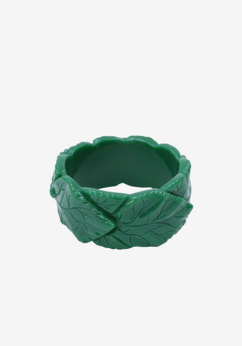 Carrie Green Leaves Bangle Rannekoru - Collectif