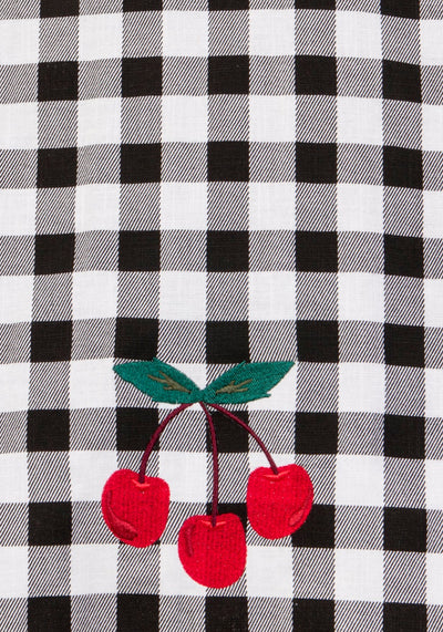 Cherry Vintage Gingham Kellohame (Ennakkotilaustuote)-Collectif-Miss Windy Shop