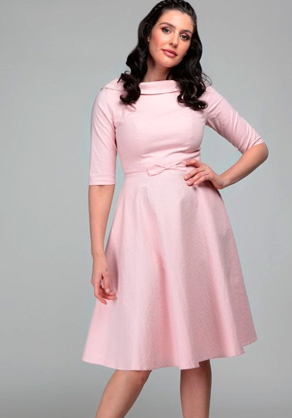 Bertha Pink Swing Juhlamekko (Ennakkotilaustuote)-Collectif-Miss Windy Shop