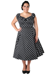 Dolores Doll Black Polka Dot