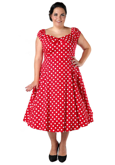 Dolores Doll Red Polka Dot