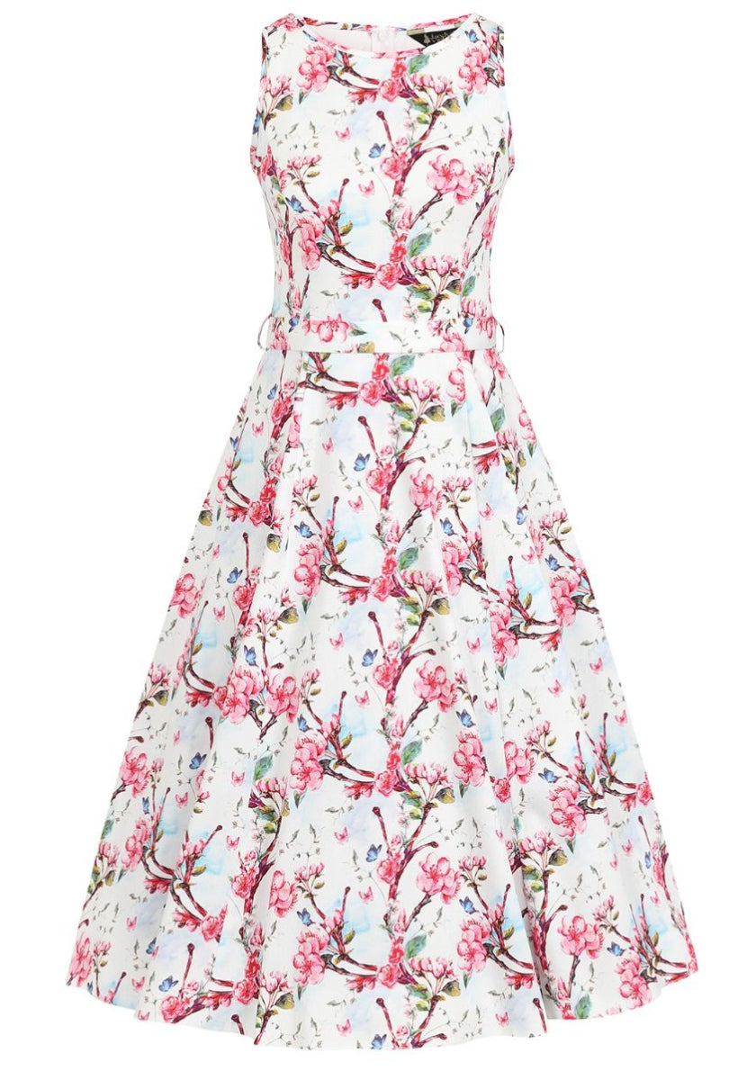 Hepburn Budding Blossom In White Kellomekko-Lady Vintage-Miss Windy Shop