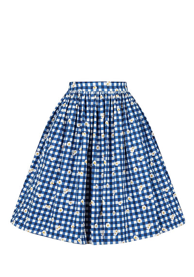 Jasmine Gingham Daisy Kellohame (Ennakkotilaustuote)-Collectif-Miss Windy Shop