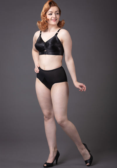 Bullet Bra Maitresse Black Rintaliivit-What Katie Did-Miss Windy Shop
