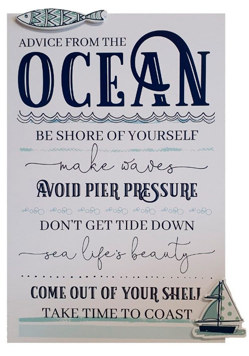 "Puukyltti ""Advice From The Ocean"""