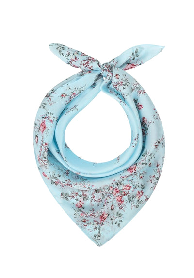 Nicole Baby Blue Flowers Huivi-Collectif-Miss Windy Shop