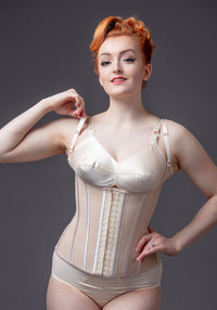Nude Underbust With Straps Korsetti