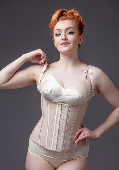 Nude Underbust With Straps Korsetti-Corset Story-Miss Windy Shop