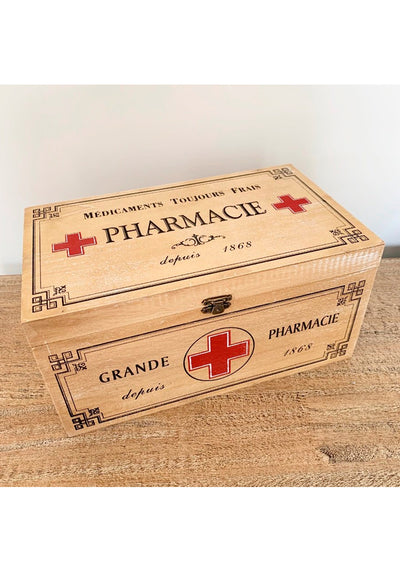 Vintage Pharmacie Box-Miss Windy Shop-Miss Windy Shop