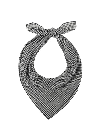 Zoe Black Gingham Huivi-Collectif-Miss Windy Shop