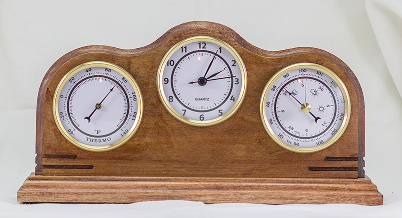 Desk Weather Station with Clock